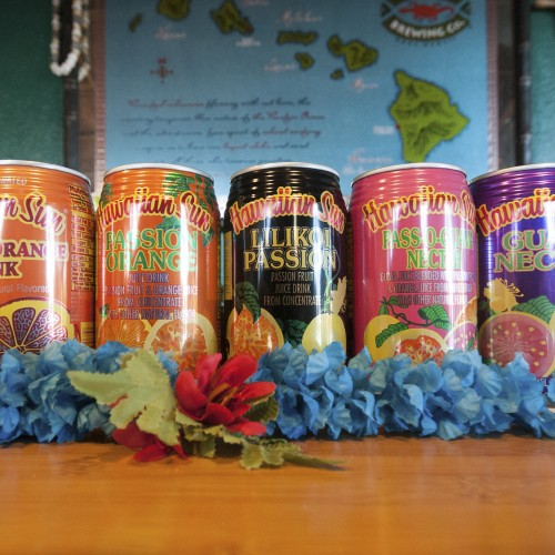 Hawaiian Sun Canned Juice Drinks